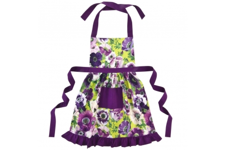 floral frilly aprons kitchen glamour gifts