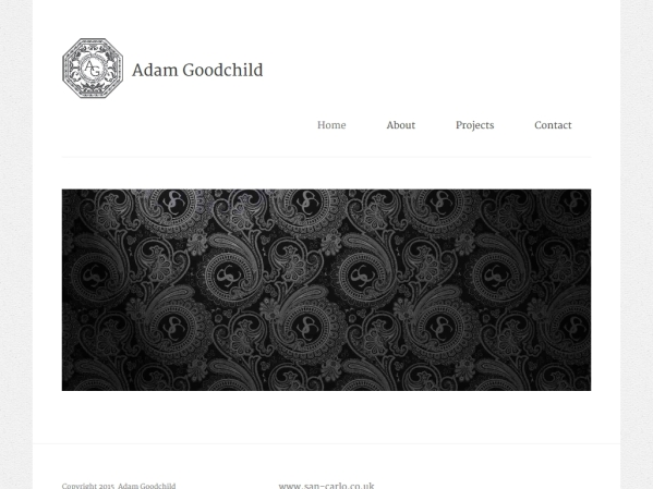 adamgoodchild.co.uk - 50 British Textiles Designers' websites for Inspiration