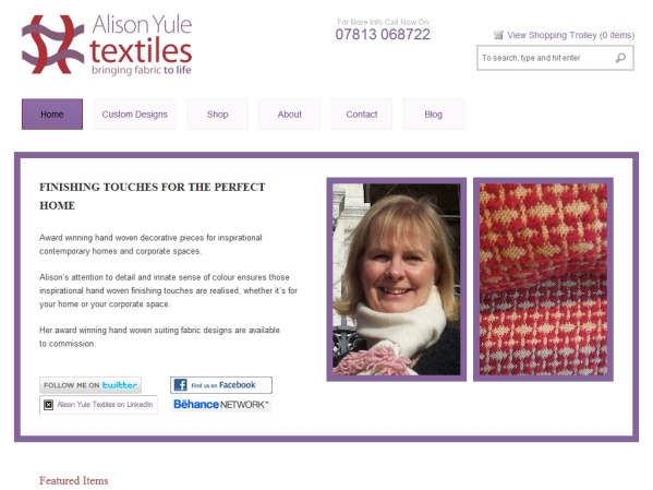 alisonyuletextiles.co.uk - 50 British Textiles Designers' websites for Inspiration