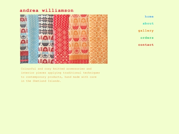 andreawilliamson.co.uk - 50 British Textiles Designers' websites for Inspiration