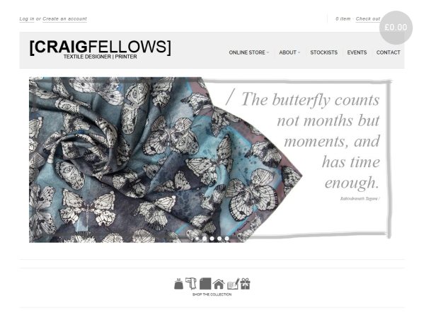 craigfellows.co.uk - 50 British Textiles Designers' websites for Inspiration
