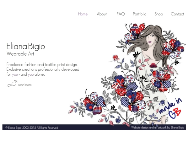 designbyeb.com - 50 British Textiles Designers' websites for Inspiration