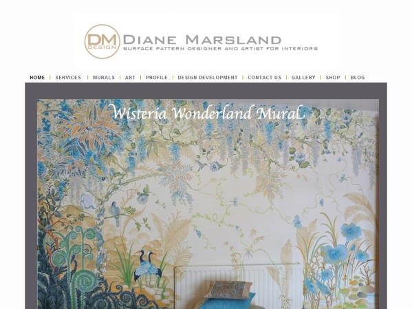 dimarsart.co.uk - 50 British Textiles Designers' websites for Inspiration