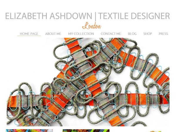 elizabethashdown.co.uk - 50 British Textiles Designers' websites for Inspiration