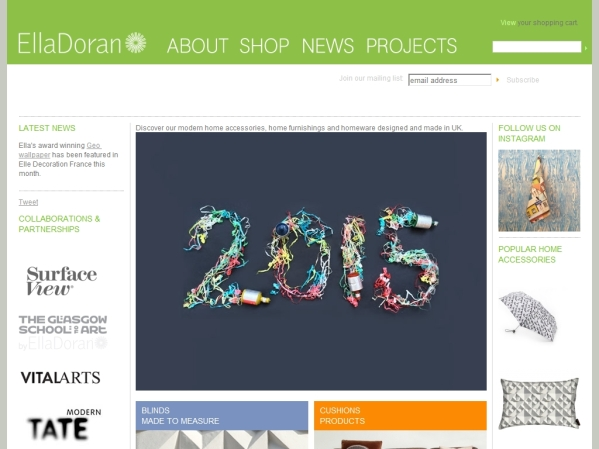 elladoran.co.uk - 50 British Textiles Designers' websites for Inspiration