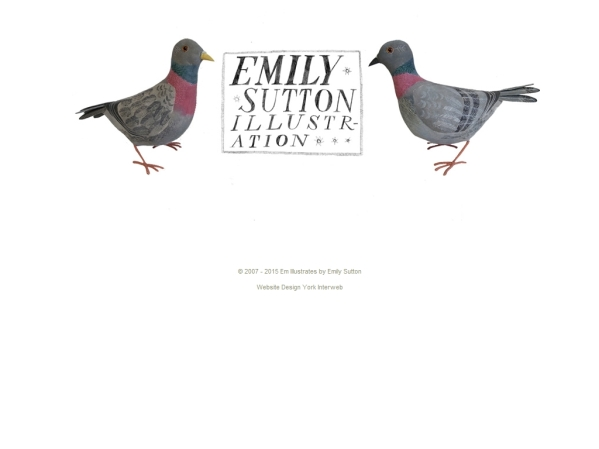 emillustrates.com - 50 British Textiles Designers' websites for Inspiration