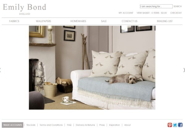 emilybond.co.uk - 50 British Textiles Designers' websites for Inspiration