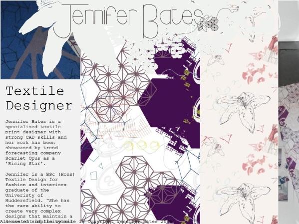 jenniferbates.co.uk - 50 British Textiles Designers' websites for Inspiration