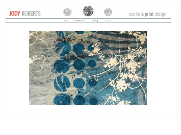 jodyroberts.co.uk - 50 British Textiles Designers' websites for Inspiration