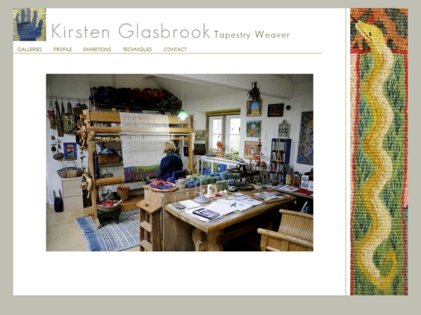 Kirsten.Glasbrook.com - 50 British Textiles Designers' websites for Inspiration