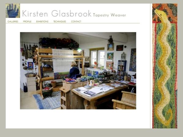 Kirsten.Glasbrook.com - 50 British Textiles Designers' websites for Inspiration