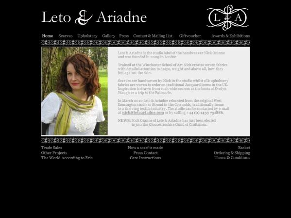 letoariadne.com - 50 British Textiles Designers' websites for Inspiration
