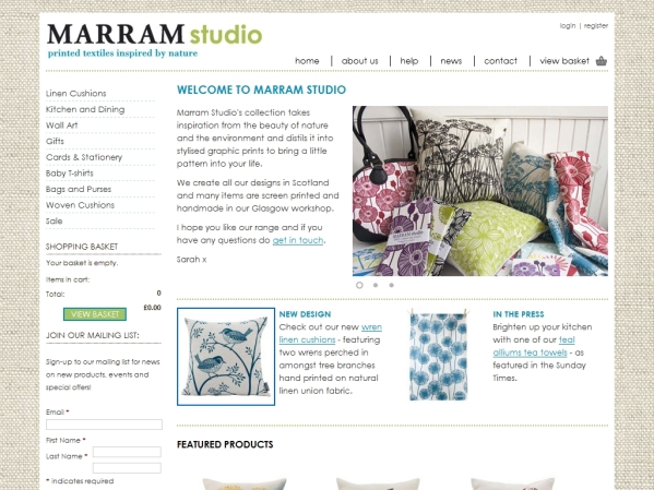 marramstudio.com - 50 British Textiles Designers' websites for Inspiration