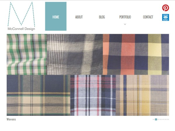 mcconnelldesign.co.uk - 50 British Textiles Designers' websites for Inspiration