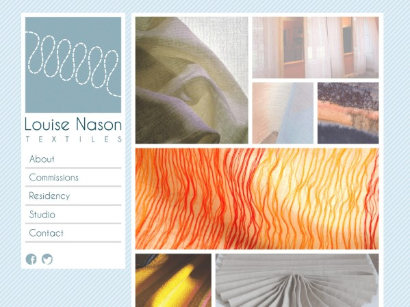 NasonWeb.co.uk - 50 British Textiles Designers' websites for Inspiration