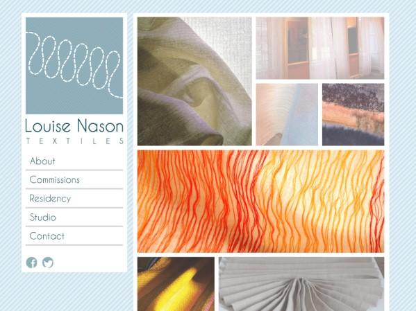 NasonWeb.co.uk - 50 British Textiles Designers' websites for Inspiration
