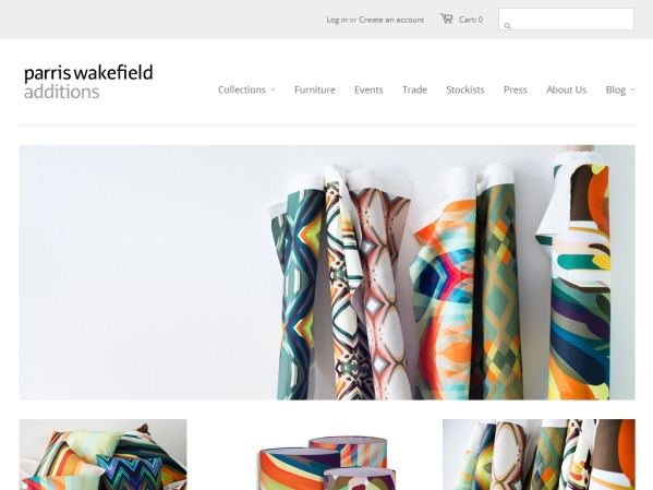 parriswakefieldadditions.com - 50 British Textiles Designers' websites for Inspiration