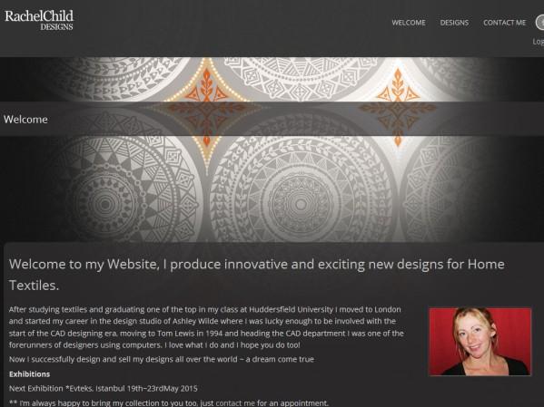 rachelchilddesigns.co.uk - 50 British Textiles Designers' websites for Inspiration