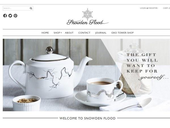 snowdenflood.com - 50 British Textiles Designers' websites for Inspiration