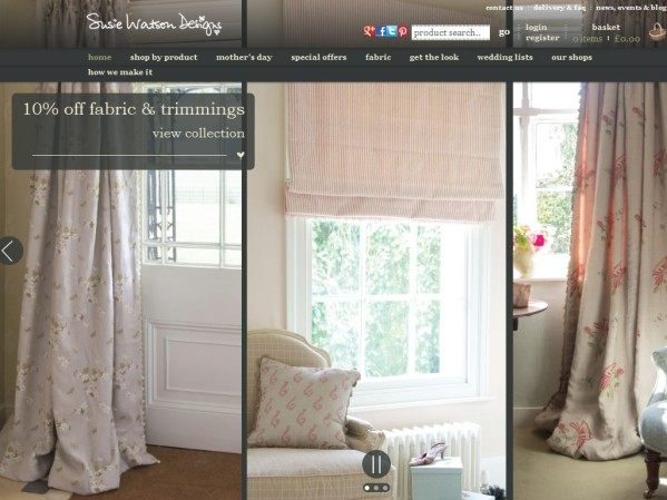 susiewatsondesigns.co.uk - 50 British Textiles Designers' websites for Inspiration