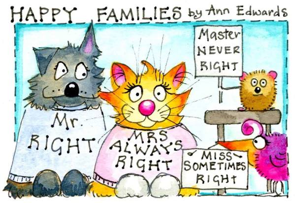 Happy Families by Ann Edwards