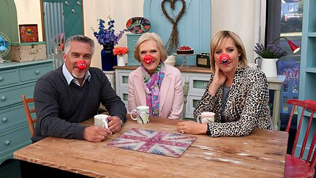 The Great Comic Relief Bake Off recipes