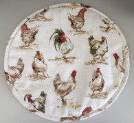 Chickens Aga Cover - brand new and exclusive to Heart to Home
