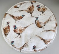 Pheasants Aga Cover - brand new and exclusive to Heart to Home