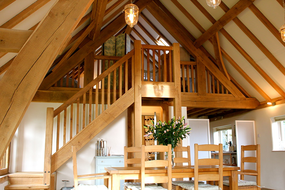 Ashwell Barn Cotswolds Accommodation - Stairs / Dining